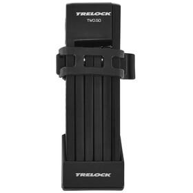 Trelock FS 200 TWO.GO L Faltschloss 100 cm schwarz